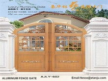Customized Beautiful House Villa aluminum Gates