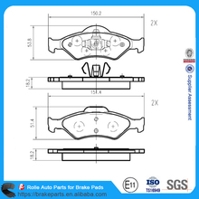 American Car Parts D1460 For FORDFORD Car Disc Brake Pads GDB1418