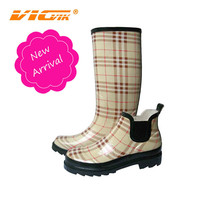 2014 fashion ladies winter boots woman shoe military rain boot