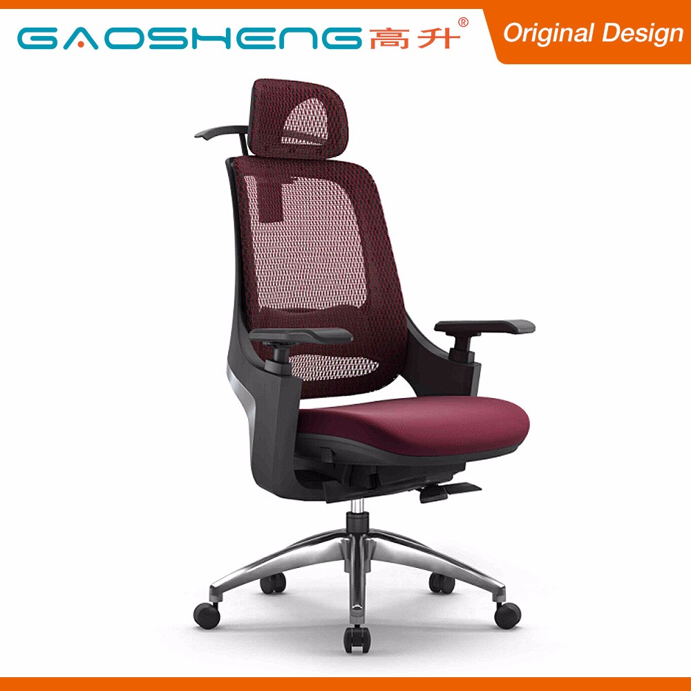Excellent Material Mesh Back Head Support Ergonomic Office Chair