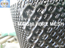 3mm x3mm HDPE Extruded net Oil Pipeline Protection Mesh thermal spraying,with wear and corrosion resistance, toughness etc.