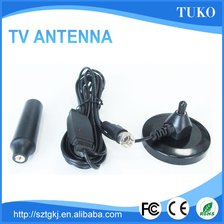 Factory price 174-230/470-862mhz dvb-t digital tv receiver antenna