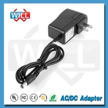 CE UL Wall mounted AC DC 24W 12v 2a power adapter