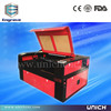 Famous manufacture gold quality laser paper cutting machine