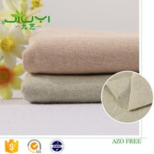 wholesale soft natural colored organic unbleached cotton 1x1 rib fabric