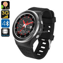 3G Wifi Smart Phone Support SIM Card Android 5.1 Bluetooth Fitness Tracker Camera Watch for Android Phone MTK6580