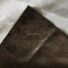 Bronzed genuine suede fabric for sofa sets
