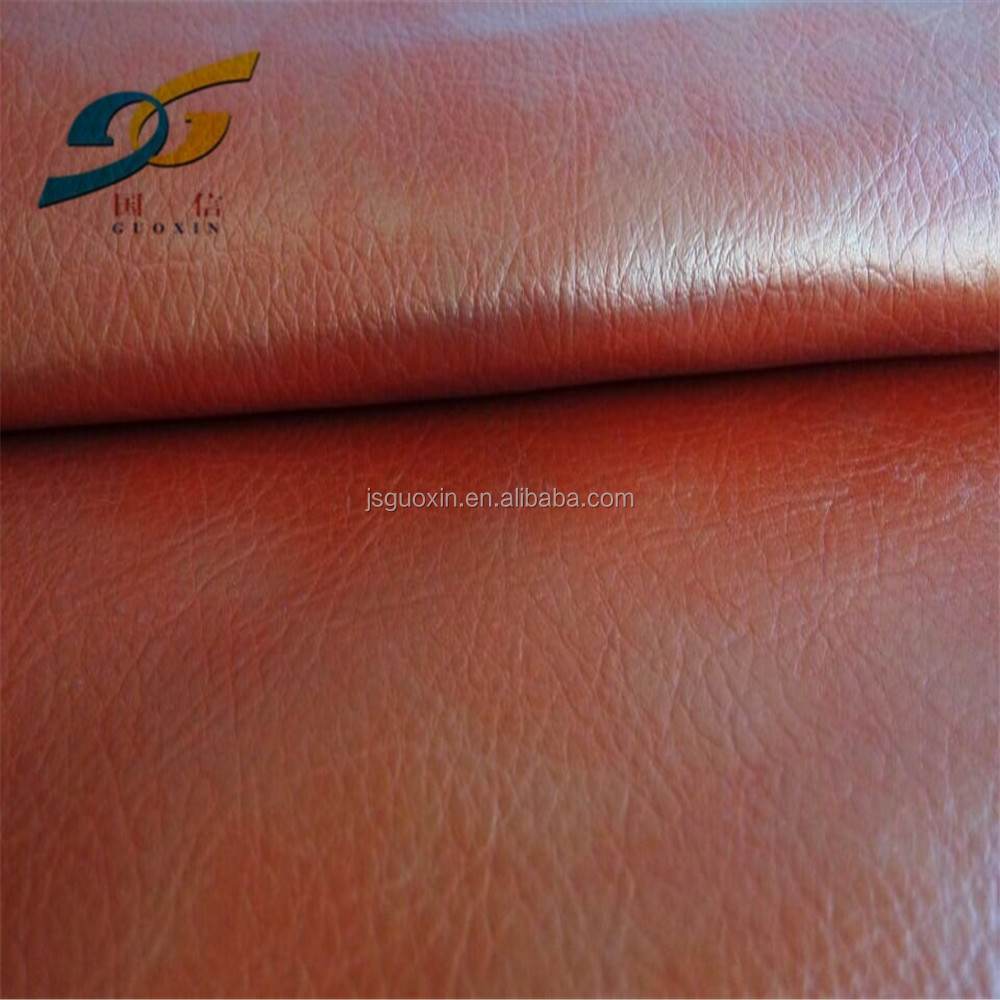 New Pu leather water born PU synthetic leather for coat material (HB040)