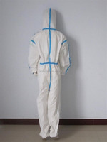 type 4/5/6 taped disposable coverall