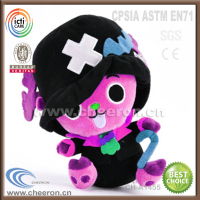 Novelty design halloween stuffed toys best selling 2014