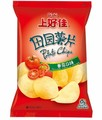 Custom Printing Size Fin Seal Potato Chips Packaging Bag