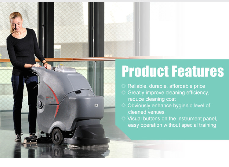 GM50B High Quality Automatic Small Electric Floor Scrubber