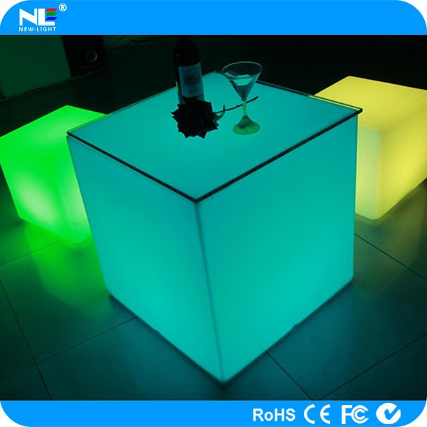 Outdoor furniture!!!led furniture led table led chairs led furniture acrylic used tables and chairs for sale30*30.30