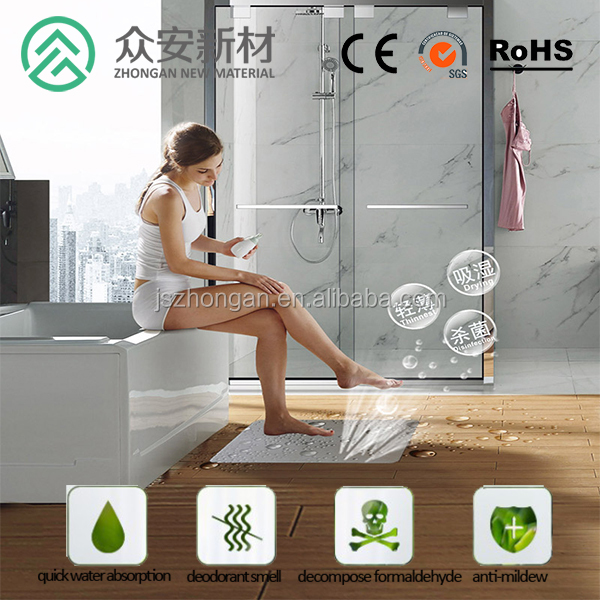 safe and comfortable shower mats diatomite bath mat