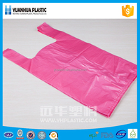Polyester foldable bags/ plastic t-shirt shopping bag/ t-shirt shopping bags
