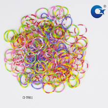 cheap different types colored rubber band for money office stationery use