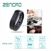 New product new design bluetooth 4.0 activity and sleep quality tracker bracelet