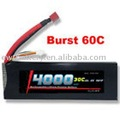 RC Helicopter lipo battery 11.1V 4000mAh 30C