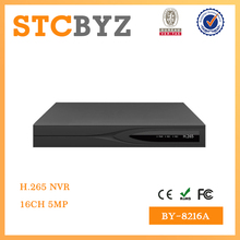 Cheap 16 channel H.265 support HDMI 5MP NVR