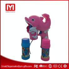 Popular bubble toy wholesale bubble gun dolphin bubble gun with sound