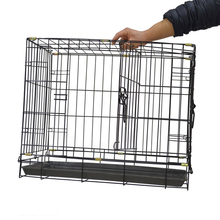 Cheap china double free dog cages and crates MHD002