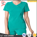 Y-neck D-ring medical staff uniform nursing scrubs