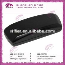 Black Classic Iron Eyewear Case For Man