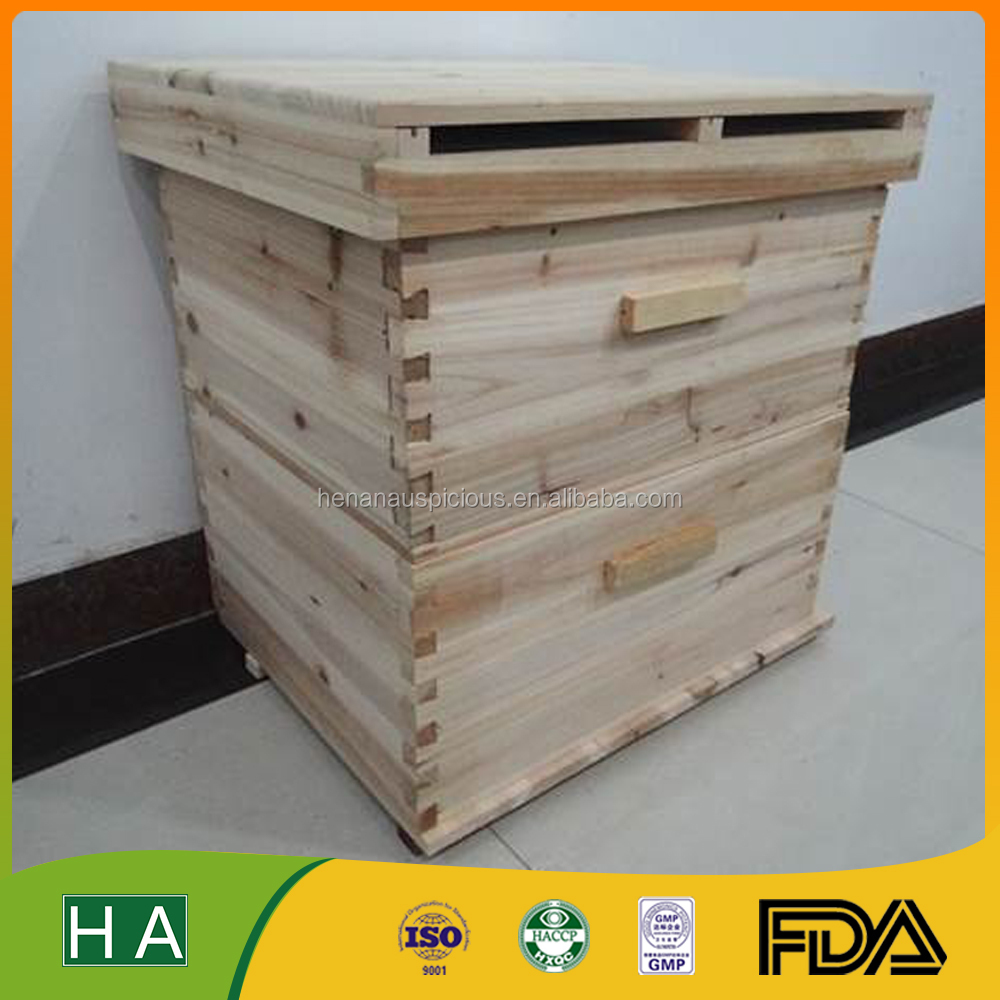 The Standard 10 bee hive frames Drying Cedar Honey Hive