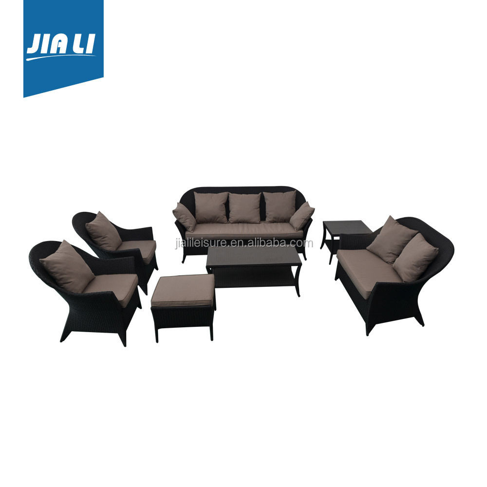Great durability factory directly rattan chairs and tables set china