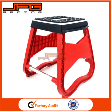 Red Plastic MX Motorcycle stand Stool Repairing Lift Repair Holder For Honda CR CRF XR Motocross Dirt Bike Spare Parts