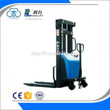 New design manual hand stacker forklift for wholesales KLD-A