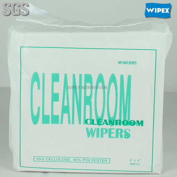 Manufacturer spunlace nonwoven cleanroom lint free wipe