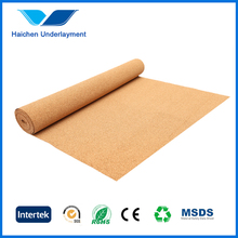 soundproof cork underlayment/roll for flooring