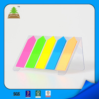 Memo pad /PET material page marker for office &school sticky note pad