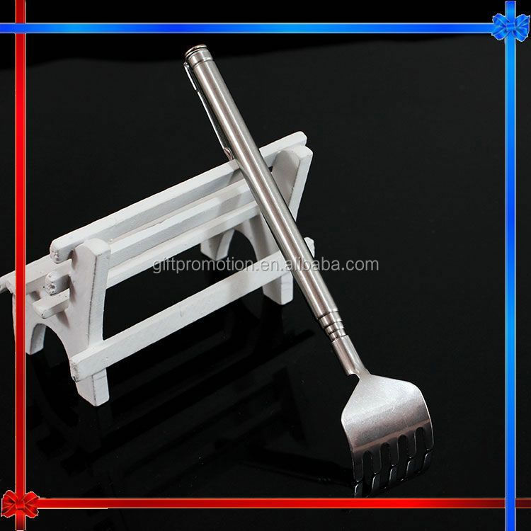 MW195 telescopic stainless steel electric back scratcher