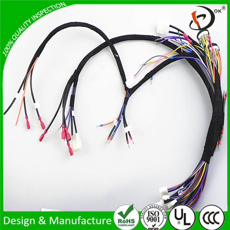 New product wires harness for coffee machine