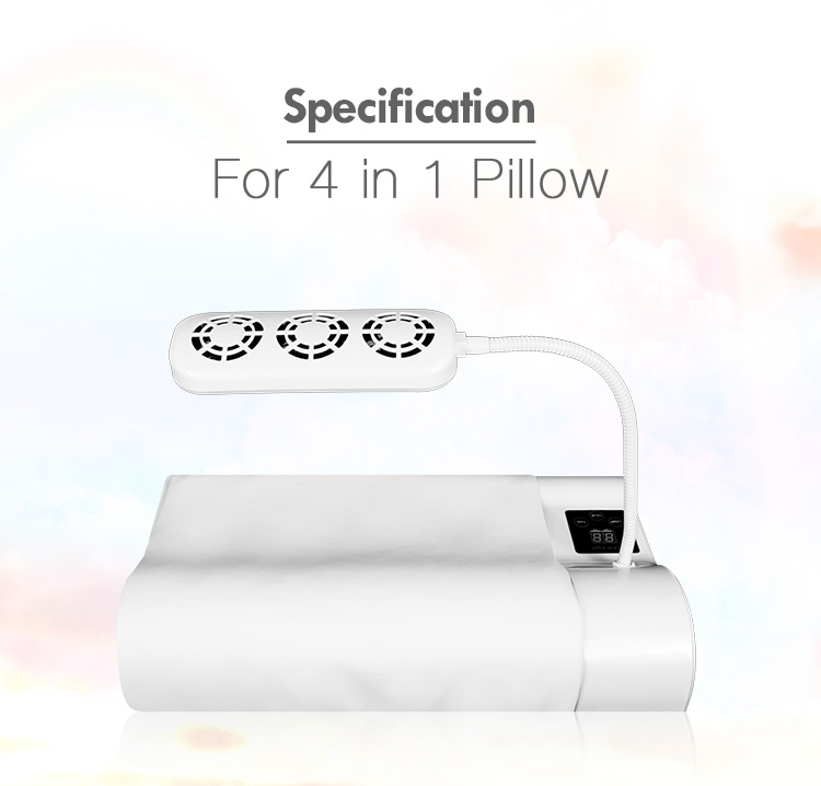 4 in 1 Disinfect Client Assuage The Skin Eyelash Memory Foam Pillow Eyelash Pillow Salon Pillow Fan