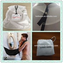 Bathroom catcher/beard bib apron/hair dressing cape printing with custom logo