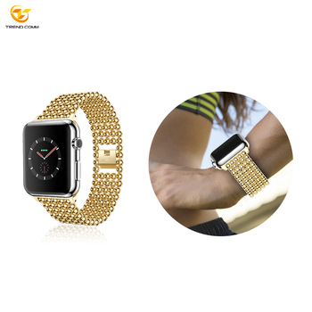 Smart Strap Metal For Apple iwatch Watch Band Stainless Steel