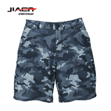 2017 summer collection New custom design sublimated waterproof 4 way stretch camo board shorts swimming camouflage boardshorts