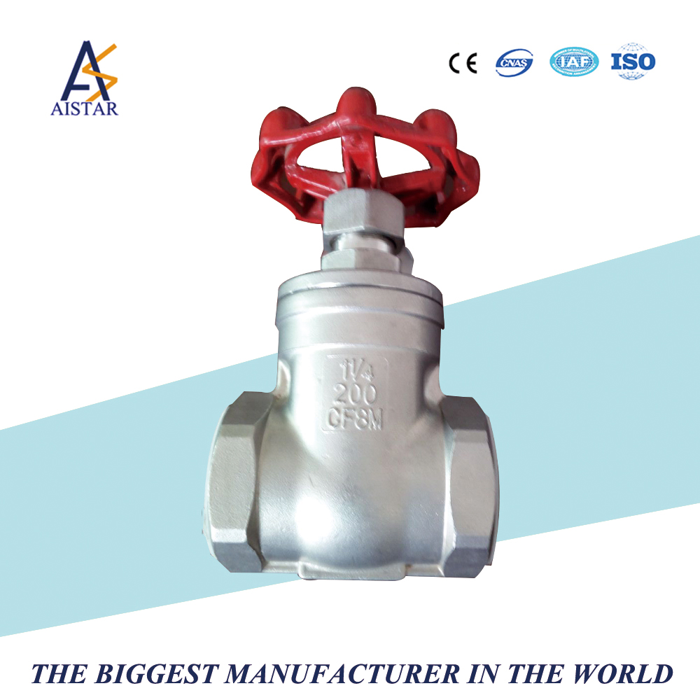 Gate valve globe valve check valves with stainless steel small body