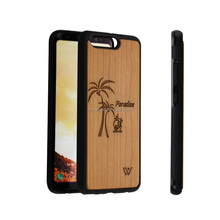 New Products Full Protected Real Phone Case for Huawei P9, Phone TPU Accessory Wooden case for Huawei P10 Lite