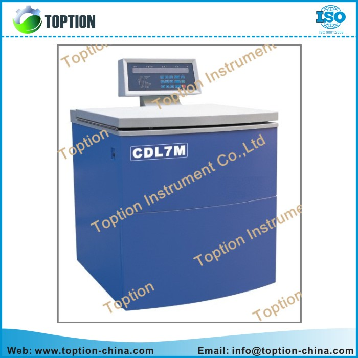 CDL7M floor type low speed super large capacity cooling system blood bank centrifuge