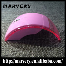 Lovely Pink 2.4ghz Wireless Foldable Brand Computer Mouse for Women