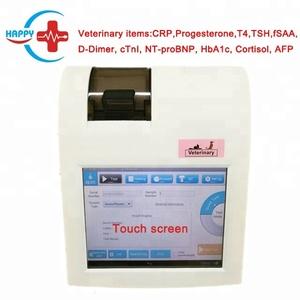 HC-B014E PLUS Veterinary Touch screen POCT Analyzer/canine progesterone test machine CRP/Progesterone/T4/TSH/fSAA/D-Dimer/HbA1c