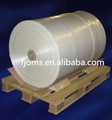 PE stretch pallet hood film for covering pallet with gusset