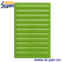 mdf laminated slat cabinet door