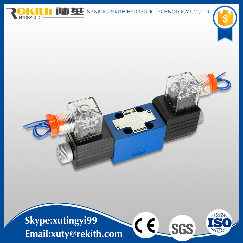 Good quality cheap price 4WE4 industrial relief solenoid valve