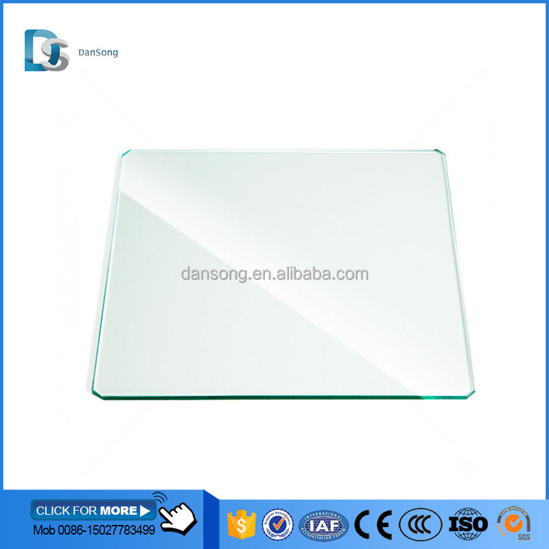 Low prices 10mm thick density toughened glass / tempered glass