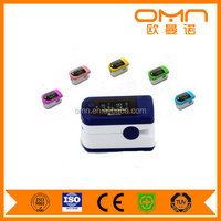 New Fingertip Pulse Oximeter SPO2 Pulse Rate Blood Oxygen Monitor Sound Alarm Different Directions Display